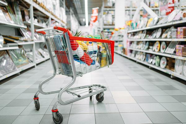 cart-full-of-goods-in-supermarke